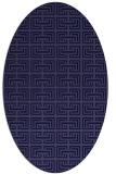 rug #208221 | oval blue-violet traditional rug