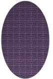 rug #208233 | oval blue-violet traditional rug