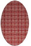 rug #208332   oval popular rug