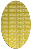 rug #208413 | oval white traditional rug