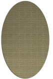 rug #208461 | oval light-green rug