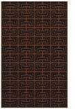 rug #208505 |  brown traditional rug