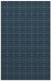 rug #208521 |  blue-green traditional rug