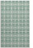 rug #208621 |  blue-green traditional rug