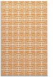 rug #208681    orange traditional rug