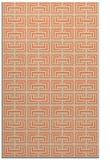 rug #208685 |  orange traditional rug