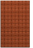 rug #208689 |  red-orange traditional rug