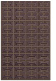 rug #208721 |  mid-brown traditional rug
