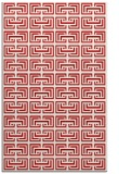 rug #208729 |  red traditional rug