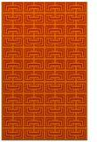 rug #208733 |  orange traditional rug