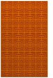 rug #208745 |  red-orange traditional rug