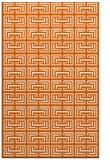 rug #208757 |  red-orange traditional rug