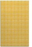 rug #208777    yellow traditional rug