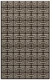 rug #208785 |  brown traditional rug