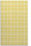 rug #208789 |  yellow popular rug
