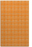 rug #208805 |  orange traditional rug