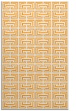 rug #208837 |  light-orange traditional rug
