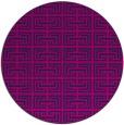 rug #208869   round pink rug