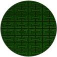 rug #208909   round rug