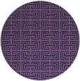 rug #208937 | round purple traditional rug
