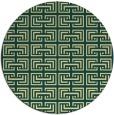 rug #209045 | round yellow rug