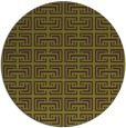 rug #209069 | round purple traditional rug