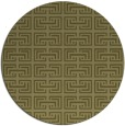 rug #209173 | round light-green popular rug
