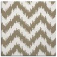 rug #209685 | square mid-brown stripes rug