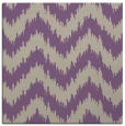 rug #209725 | square purple stripes rug