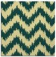 rug #209749   square yellow stripes rug