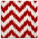 rug #209785 | square red stripes rug