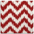 rug #209793 | square red stripes rug