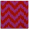 rug #209797 | square red stripes rug