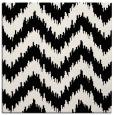 rug #209817   square white stripes rug