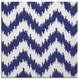 rug #209825   square white stripes rug