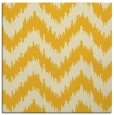 rug #209833 | square yellow rug