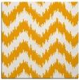 rug #209881 | square light-orange stripes rug