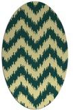 rug #210101 | oval rug