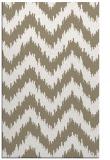 rug #210249 |  white stripes rug
