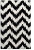 rug #210253 |  white stripes rug