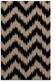 rug #210261    black stripes rug