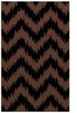 rug #210265 |  brown stripes rug