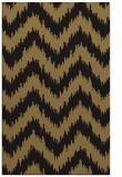 rug #210269 |  black stripes rug