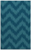 rug #210297 |  blue-green stripes rug