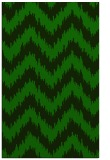 rug #210317 |  green stripes rug