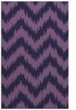 rug #210345 |  purple stripes rug