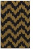 rug #210365 |  black stripes rug