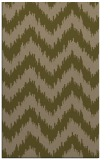 rug #210369 |  mid-brown stripes rug