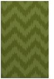 rug #210373    green stripes rug
