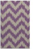 rug #210429    purple stripes rug